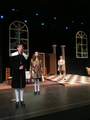 """""""TARTUFFE"""" — One of the bestknown theatrical comedies by Molière presented by BHS drama students under the direction of Justin Scheuer, 7 p.m. Saturday, 2 p.m. Sunday, Arend Arts Center at Bentonville High School. $5-$8. itickets.com/events/388519.html."""