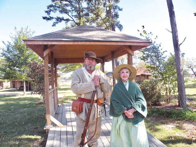 pioneer-village-will-host-its-10th-annual-fall-fest-from-10-am-to-4-pm-saturday-and-from-noon-to-4-pm-nov-5-among-volunteers-planning-to-participate-are-tom-bird-a-civil-war-re-enactor-and-carolyn-kenney-who-is-in-charge-of-coordinating-musical-groups-that-will-provide-live-entertainment-at-the-weekend-event