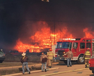 Large fire at Arkansas plywood mill