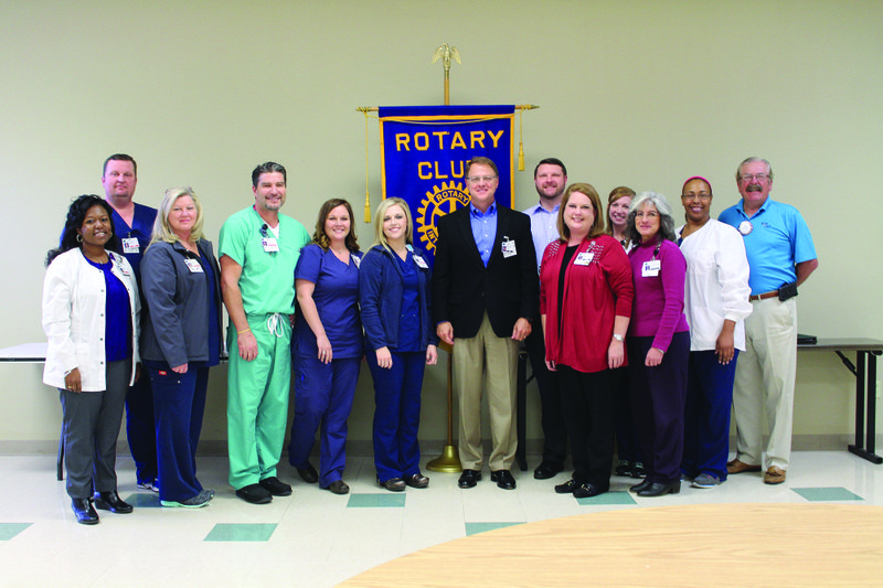 new medical center ceo introduced to rotary rh eldoradonews com medical center of south arkansas el dorado ar medical center of south arkansas employment