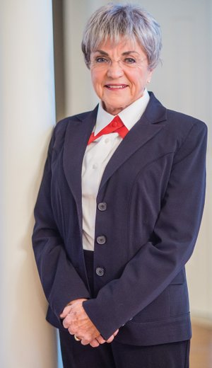 Mary Virginia Erdman of Hot Springs Village is the first female to be inducted into the Arkansas Military Veterans Hall of Fame. She served 16 1/2 years in the Army Reserve Nurse Corps and has more than 40 years of experience in administration and nursing at Department of Veterans Affairs medical centers and other facilities. She is also active in the American Legion and Veterans of Foreign Wars.