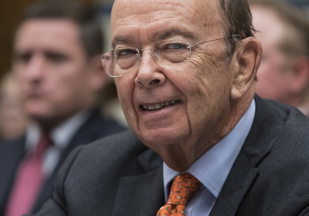in-this-thursday-oct-12-2017-file-photo-commerce-secretary-wilbur-ross-appears-before-the-house-committee-on-oversight-and-government-reform-to-discuss-preparing-for-the-2020-census-on-capitol-hill-in-washington