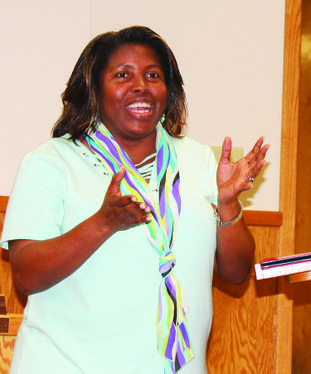 Tonya Sims, a Barton Junior High School teacher, was recognized as one of 27 educators from Arkansas, Louisiana and South Carolina to participate in a pilot program to connect students with a Cyber Program. The Arkansas Department of Education partnered with the Cyber Innovation Center in Bossier City, Louisiana and Louisiana Tech University in Ruston to offer the program.