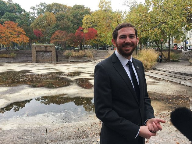 fayetteville-native-joseph-weishaar-stands-at-the-site-thursday-in-washington-where-ground-was-broken-for-the-national-world-war-i-memorial-weishaar-is-lead-designer-for-the-still-developing-plan