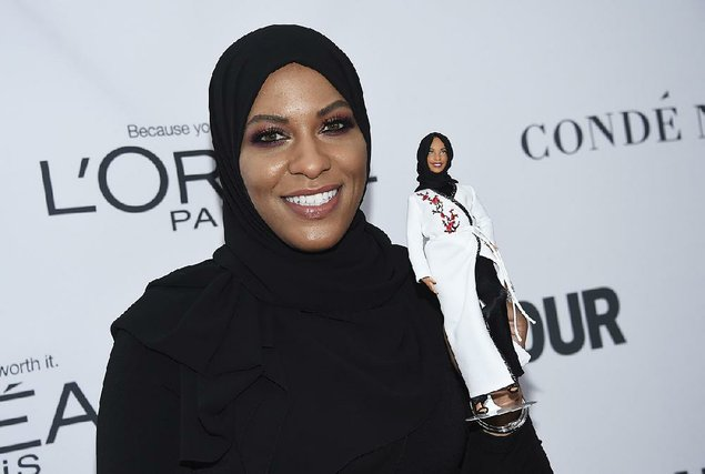 The Barbie Doll Puts on a Hijab from the Fall of 2018