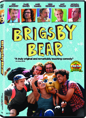 DVD cover for Brigsby Bear