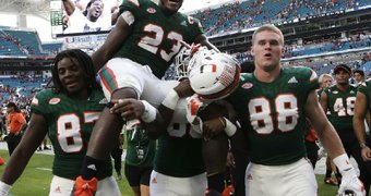 Miami tight end ...
