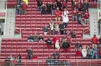 There were plenty of empty seats for Arkansas' 28-21 loss to Mississippi State Saturday, Nov. 18, 2017, at Reynolds Razorback Stadium in Fayetteville.