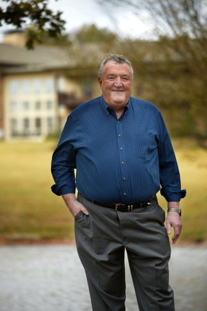 """NWA Democrat-Gazette/ANDY SHUPE """"When we hired Jeff, we knew we had struck gold. He is a hard worker, but the things he does for the community are just unbelievable."""" -- Hugh Brewer"""