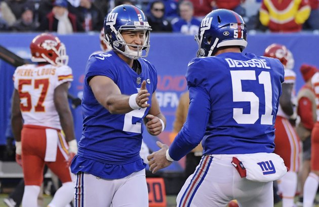 new-york-giants-kicker-aldrick-rosas-2-celebrates-a-field-goal-with-teammate-zak-deossie-51-during-the-second-half-of-an-nfl-football-game-against-the-kansas-city-chiefs-sunday-nov-19-2017-in-east-rutherford-nj