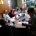 The Fayetteville Public Library Board of Trustees discusses the 2018 budget on Monday, Nov. 20, 2017...
