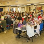 Thanksgiving lunch, Springhill Elementary, Bryant