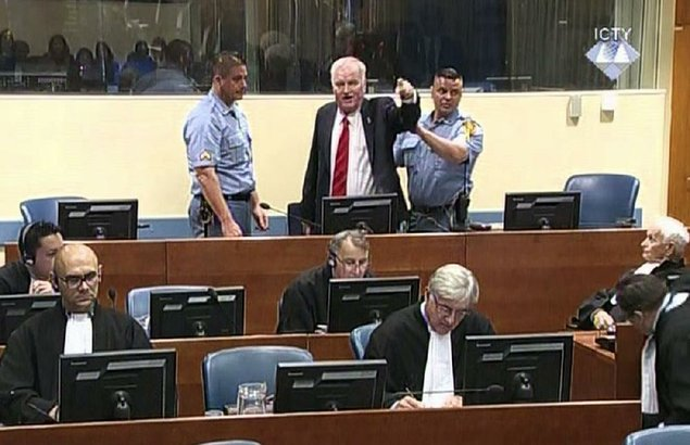Genocide: UN court sentences ex-Bosnian Serb commander to life imprisonment