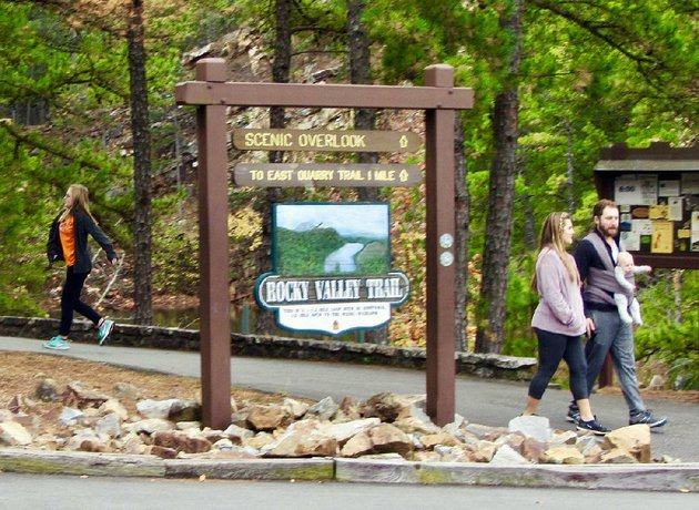 during-green-friday-at-pinnacle-mountain-and-other-state-parks-visitors-can-walk-on-their-own-as-well-as-join-guided-hikes