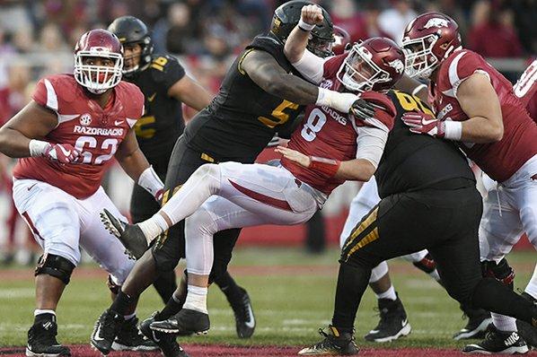 Arkansas fires Bret Bielema moments after loss to Missouri