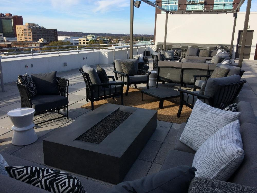 The Hilton Garden Inn Is Opening A Rooftop Bar With Views Of Downtown Little  Rock.