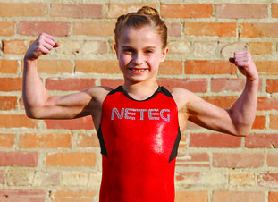 El Dorado's Anabelle Dewey, 9-year-old daughter of Eric and Christy Dewey, currently competes at North East Texas Elite Gymnastics. She will compete next week at the TOPS A National Team in Houston and hopes to, one day, become an Olympian.