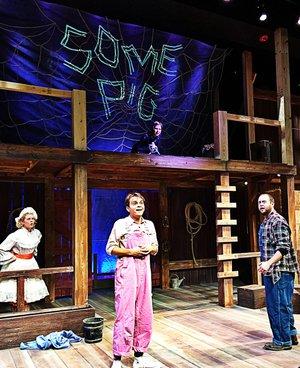 """""""Charlotte's Web"""" -- Presented by Trike Theatre, 2 & 4 p.m. Nov. 26; 7:30 p.m. Dec. 1; 2 p.m. Dec. 2, Walton Arts Center in Fayetteville. $9-$15. 443-5600."""