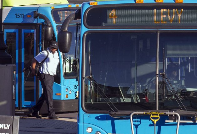 a-rock-region-metro-bus-driver-prepares-to-board-his-bus-at-the-river-cities-travel-center-in-downtown-little-rock-the-rock-region-metro-board-of-directors-approved-a-proposed-18-million-operating-budget-for-2018