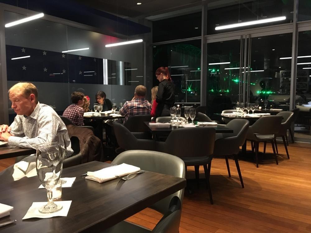 Arkansas Democrat-Gazette/ERIC E. HARRISON Interior of 42 bar and table