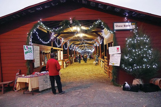 the-show-barn-at-heifer-ranch-in-perryville-was-decorated-last-year-for-the-ranchs-christmas-event-and-the-barn-will-be-open-again-this-year-for-the-holiday-hoopla-set-for-5-8-pm-friday-and-3-6-pm-saturday-activities-include-photos-with-animals-international-gifts-for-sale-and-a-chance-to-win-a-night-on-the-ranch