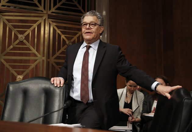 in-this-nov-29-2017-photo-senate-health-education-labor-and-pensions-committee-member-sen-al-franken-d-minn-arrives-at-a-senate-health-education-labor-and-pensions-committee-hearing-on-capitol-hill-in-washington-an-army-veteran-has-accused-franken-of-inappropriately-touching-her-more-than-a-decade-ago-while-she-was-on-a-military-deployment-to-kuwait-ap-photocarolyn-kaster