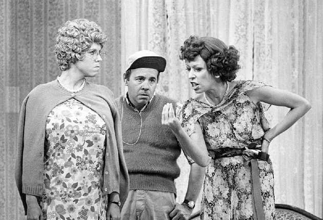 cbs-will-air-the-carol-burnett-50th-anniversary-special-at-7-pm-today-the-two-hour-special-features-from-left-vicki-lawrence-tim-conway-and-burnett