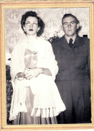"Billye and Dewitt ""Doc"" Porter were married on Dec. 30, 1952."
