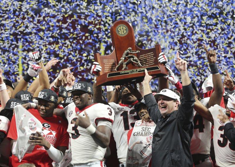 FULL LIST: Georgia, Auburn split top awards on AP All-SEC ...