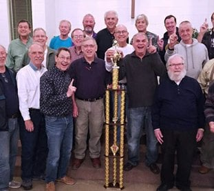 "Submitted photo BARBERSHOP: Fun City Chorus will hold its annual Christmas show, ""Christmas with the Fun City Chorus and Friends,"" at 7 p.m. Thursday at The Warehouse event venue on Broadway Street."