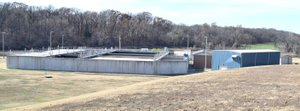 MIKE ECKELS/Westside Eagle Observer The Decatur wastewater treatment plant will soon be retrofitted with a new membrane system which will increase its capacity in order to handle the future growth from Simmons, the city of Centerton and Decatur.
