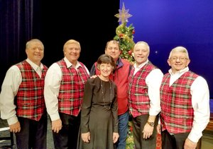 SUBMITTED The Sonshine Quartet, originating from Gravette, invites the community to a free concert on Sunday at the Performing Arts Center at Gravette High School.