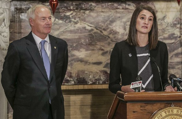mary-condit-director-of-the-arkansas-coding-academy-discusses-the-creation-of-a-program-introduced-wednesday-at-the-capitol-that-offers-scholarships-to-the-coding-academy-gov-asa-hutchinson-left-gave-an-update-on-the-states-progress-in-coding-classes