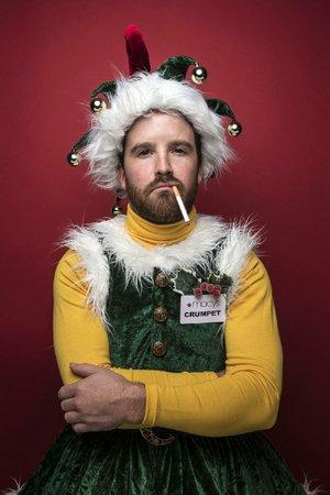 Grant Fletcher Prewitt plays Crumpet the elf.