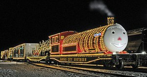 COURTESY PHOTO/Kansas City Southern's Holiday Express will be stopping in Anderson next Monday, Dec. 11. COURTESY PHOTO/Kansas City Southern's Holiday Express will be stopping in Anderson next Monday, Dec. 11.
