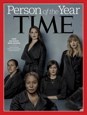 "This Person of the Year edition of Time magazine features ""The Silence Breakers,"" those who have shared their stories about sexual assault and harassment."