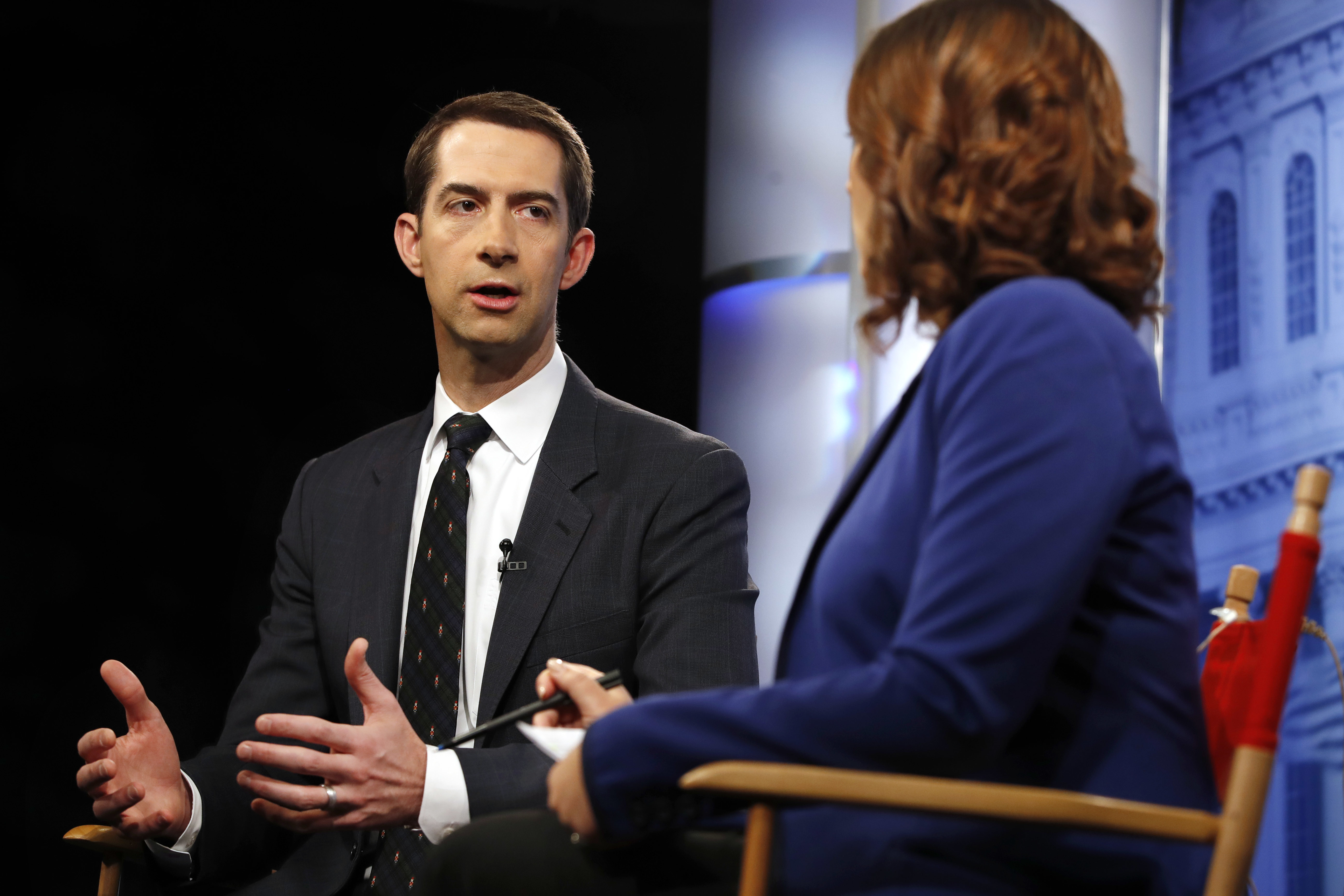 On North Korea, Cotton says China a problem