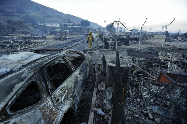 Creek Fire now 40 percent contained after destroying 33 homes near Sylmar