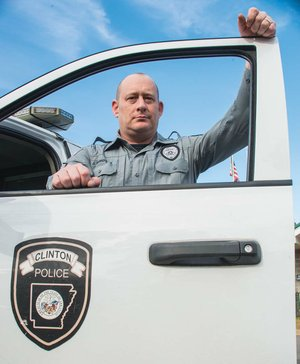 Sgt. Jay Murdock of the Clinton Police Department was named Van Buren County Outstanding Law Enforcement Officer of the Year by Arkansas Attorney General Leslie Rutledge. An Air Force veteran, Murdock became a sheriff's deputy when he got out of the military in 2005, and he has been a police officer for seven years.