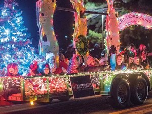 10th annual Greater Bryant Chamber of Commerce Christmas Parade