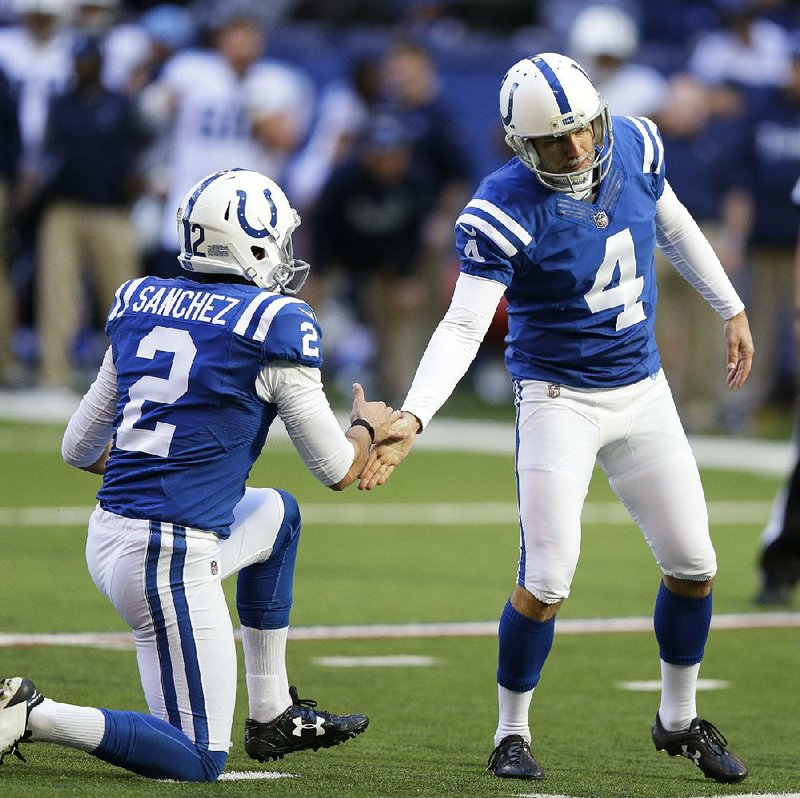 c02c48c0f Indianapolis Colts kicker Adam Vinatieri (4) got his high school jersey  back after his high school coach admitted he thought about selling it.