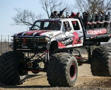 wild art monster truck
