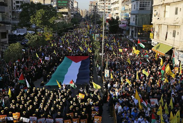 Hizballah: 'Israel will be destroyed after Trump's Jerusalem move&#39