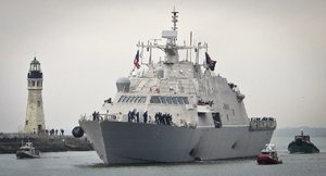 Ceremony initiates USS Little Rock warship