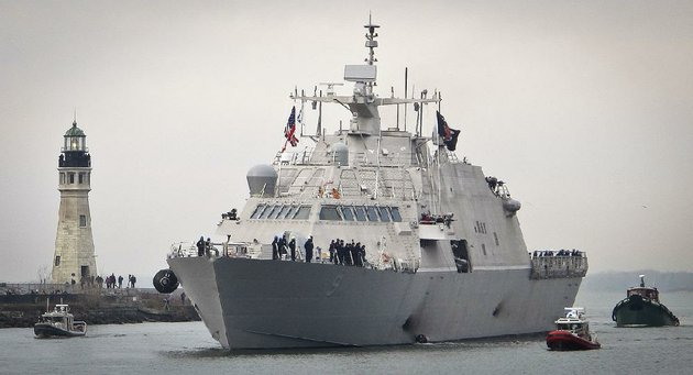the-new-uss-little-rock-a-littoral-combat-ship-built-by-lockheed-martin-arrives-dec-4-at-the-buffalo-ny-harbor