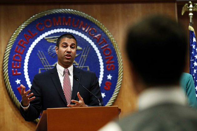 entrepreneurs-and-innovators-guided-the-internet-far-better-than-the-heavy-hand-of-government-ever-could-have-ajit-pai-said-thursday-in-defending-the-change-in-internet-regulation