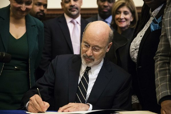 Pa. Gov. Vetoes Bill To Limit 2nd-Trimester Abortions