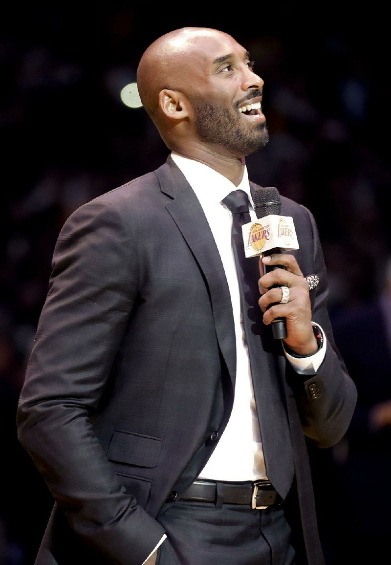 ... Lakers star Kobe Bryant said he didn t have a preference about which  number he liked better when his No. 8 and No. 24 jerseys were retired  Monday night. a793ae12f