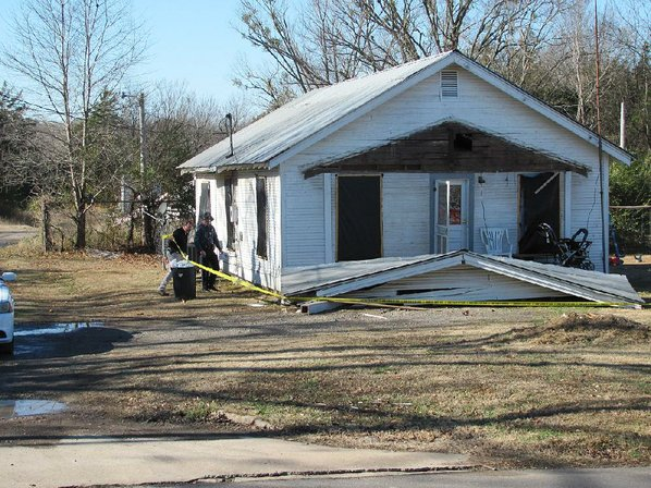 Arkansas man arrested in home explosion, fire that killed toddler