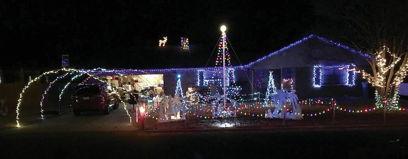 seth brown 15 of searcy decorated his home at 1301 wallis drive and programmed the lights to flash with music that is broadcast on 955 fm